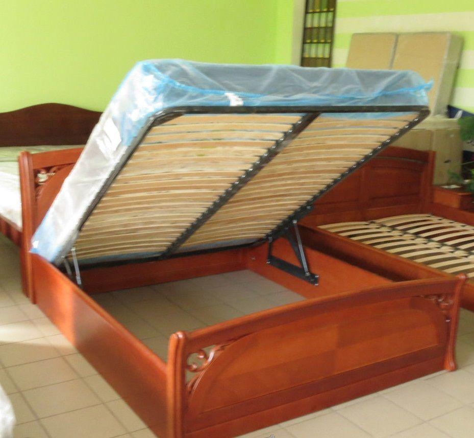 Фото 5 - Деревянная кровать Лексус