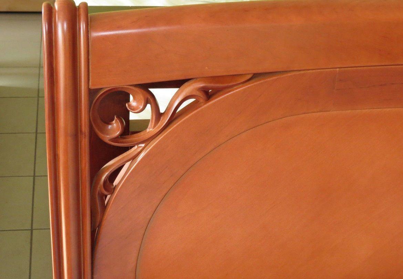 Фото 6 - Деревянная кровать Лексус