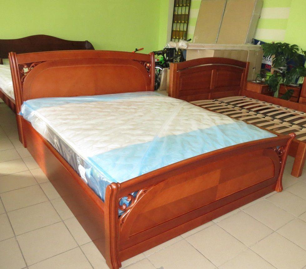 Фото 4 - Деревянная кровать Лексус
