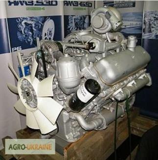 Фото - Двигатель ЯМЗ-236НК (185л.с)
