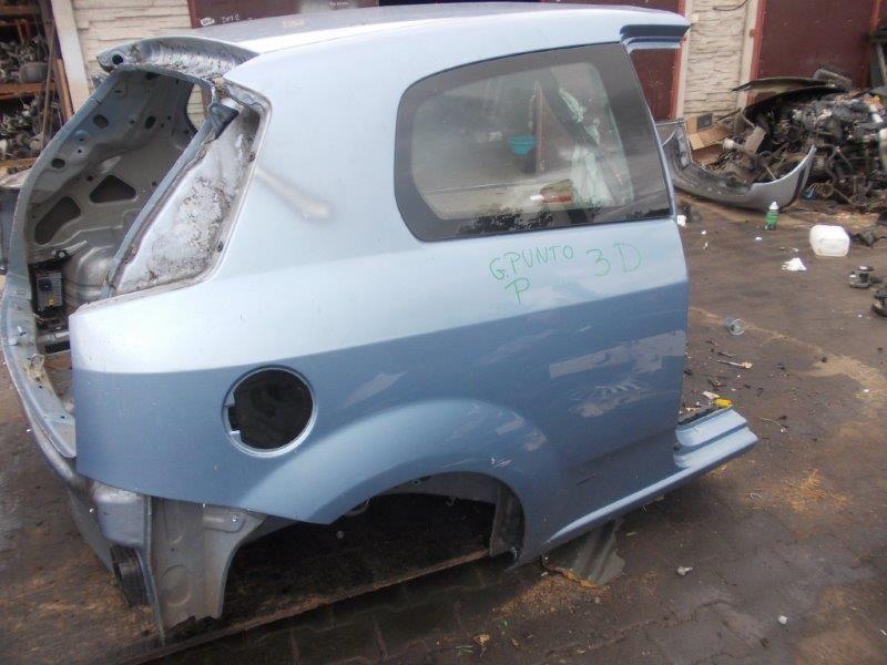 Фото 3 - Fiat Grande Punto Разборка Бампер Крышка багажн Фонарь Четверть Стоп