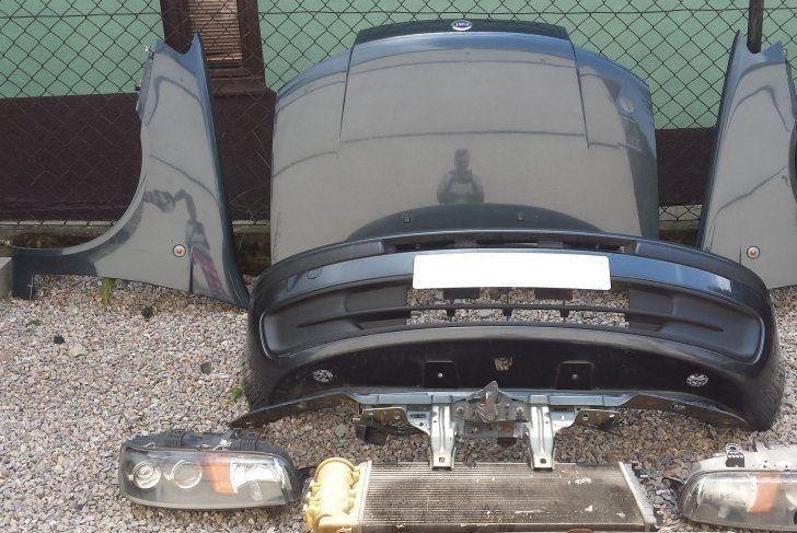 Фото 3 - Разборка FIAT Punto Фара Капот Крыло Дверь Бампер Решетка