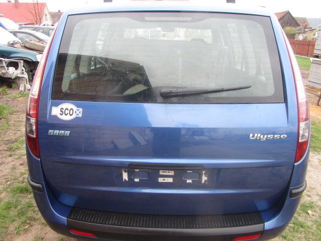 Фото 2 - Разборка Fiat Ulysse Бампер зад. Фонарь Дверь Пороги Зеркало