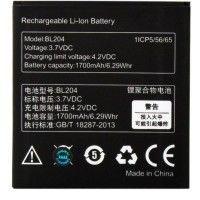 Аккумулятор Lenovo BL204 1700 mAh A586, S696, A765e AAA класс