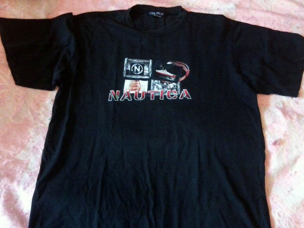 Фото 3 - Мужская футболка Nautica большого размера