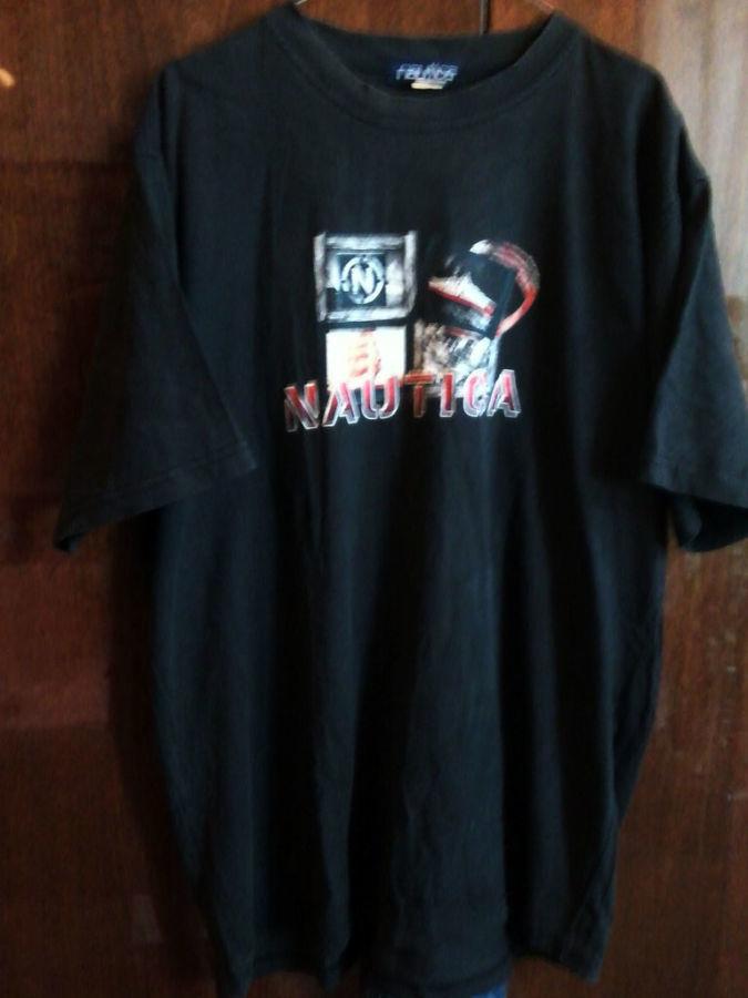Фото - Мужская футболка Nautica большого размера