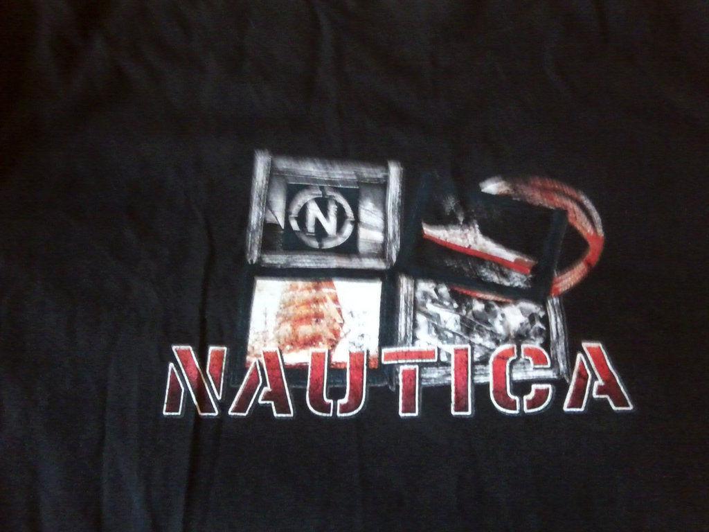 Фото 2 - Мужская футболка Nautica большого размера