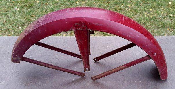 Фото 4 - Б/У крыло - щиток передний [пользованный] ЯВА/JAWA 634,Старушка