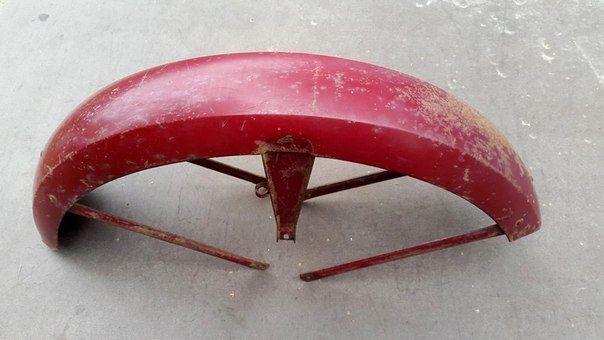 Фото - Б/У крыло - щиток передний [пользованный] ЯВА/JAWA 634,Старушка