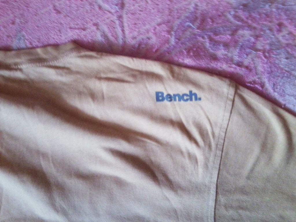 Фото 6 - Мужская футболка Bench большого размера