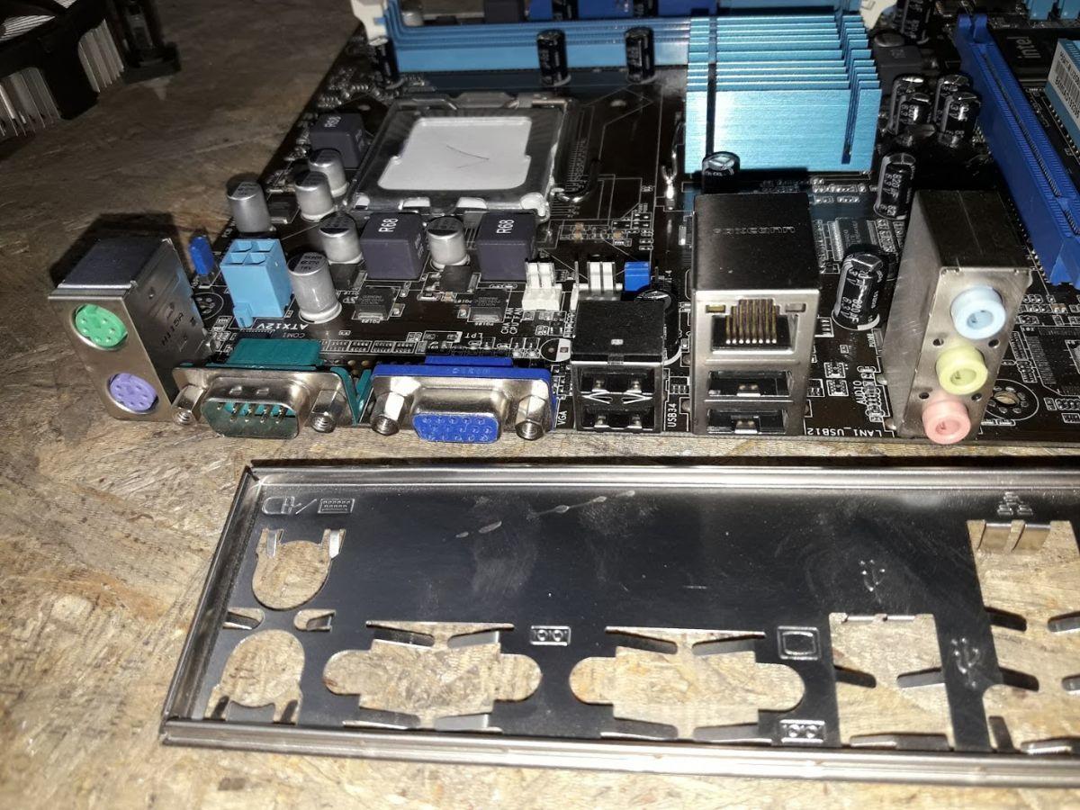 Фото 4 - Мат. плата ASUS P5G41T-M LX2 / GB / SI (OEM) LGA775 < G41 > DDR3