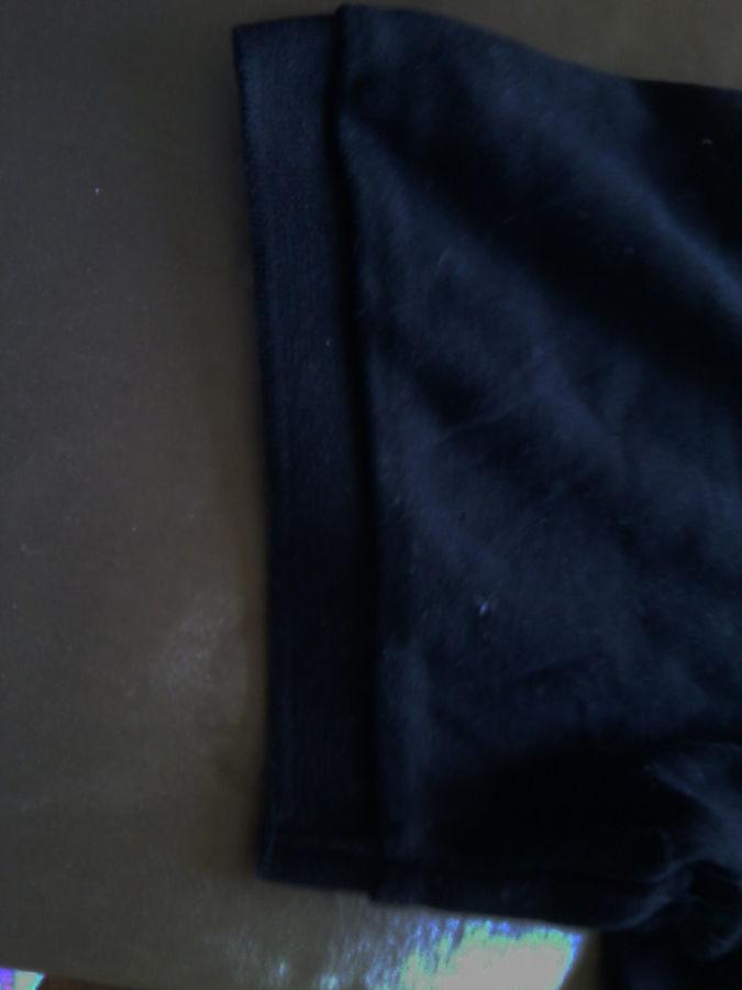 Фото 2 - Черная футболка на полных