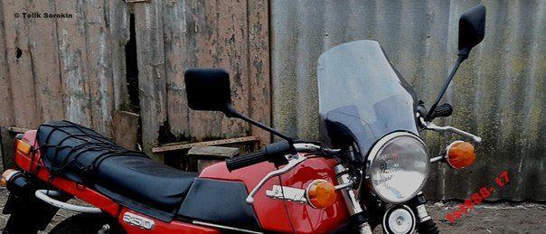 Фото - Ветровик, обтекатель, лобовик, Стекло ветровое [puig-пуиг] ЯВА/JAWA,ИЖ