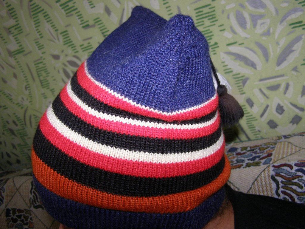 Фото 3 - Стильная шапка с ушами