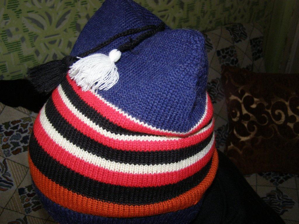 Фото - Стильная шапка с ушами