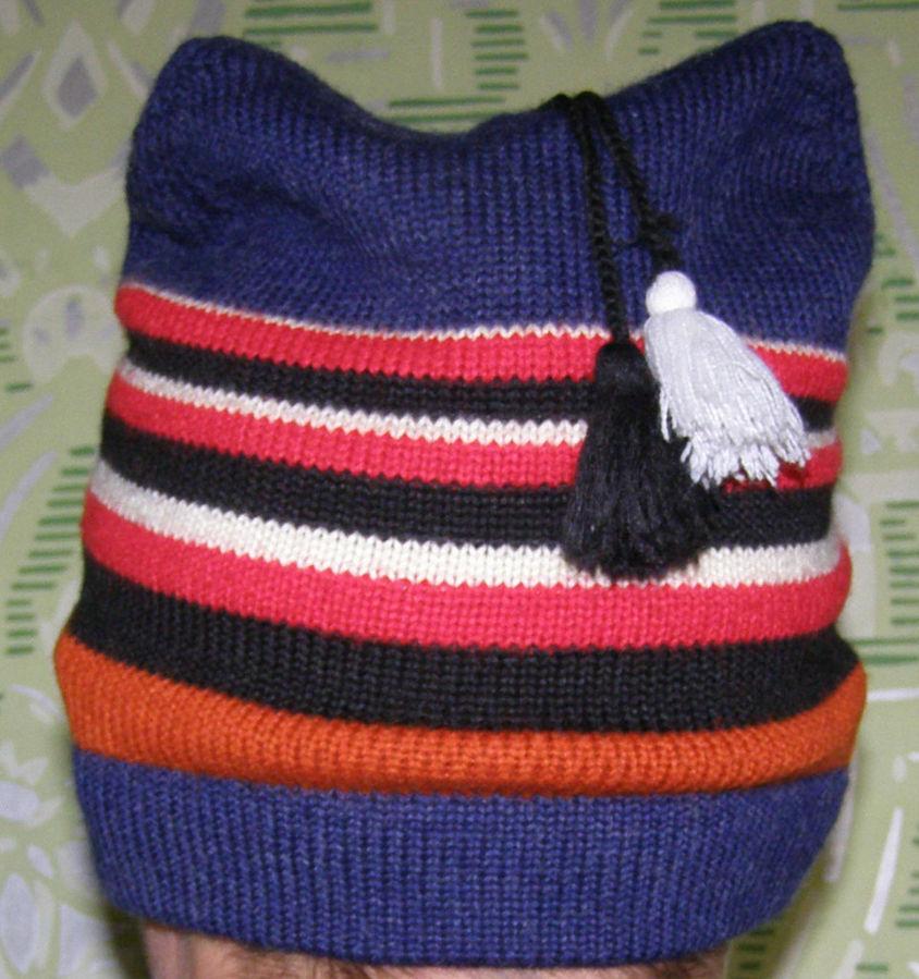Фото 4 - Стильная шапка с ушами