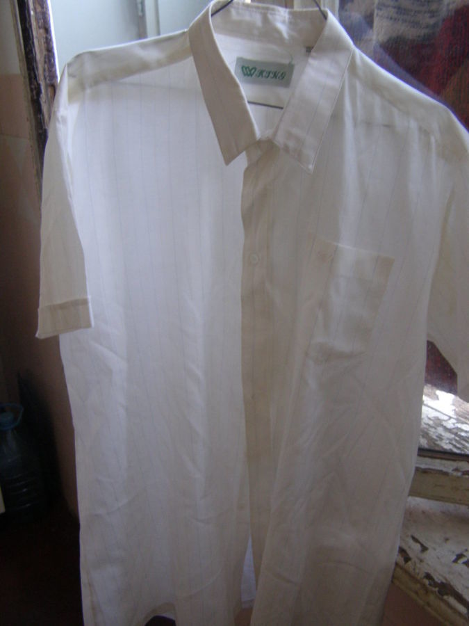 Фото - Классическая мужская рубашка,42 ворот
