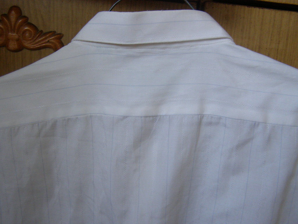 Фото 4 - Классическая мужская рубашка,42 ворот