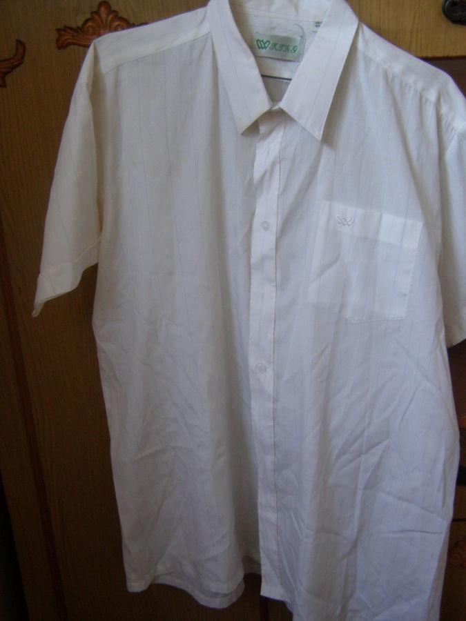Фото 2 - Классическая мужская рубашка,42 ворот