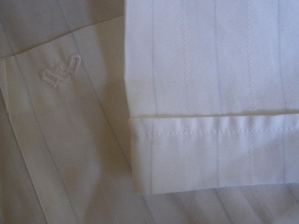 Фото 5 - Классическая мужская рубашка,42 ворот
