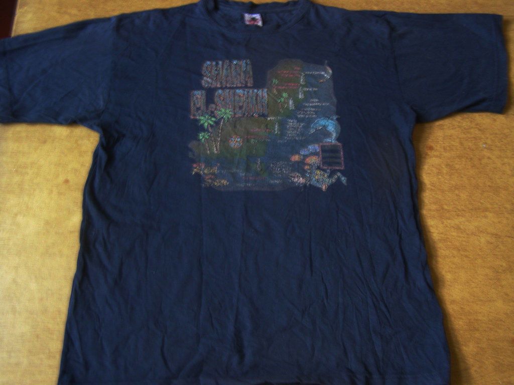 Фото - Синяя футболка для дома, 50-52 размер