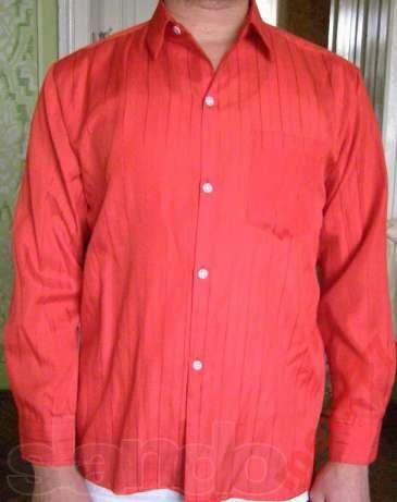 Фото - Мужская рубашка в полоску, S-М
