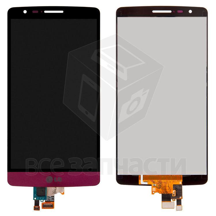 Фото - Дисплейный модуль LG G3s D724,красный,