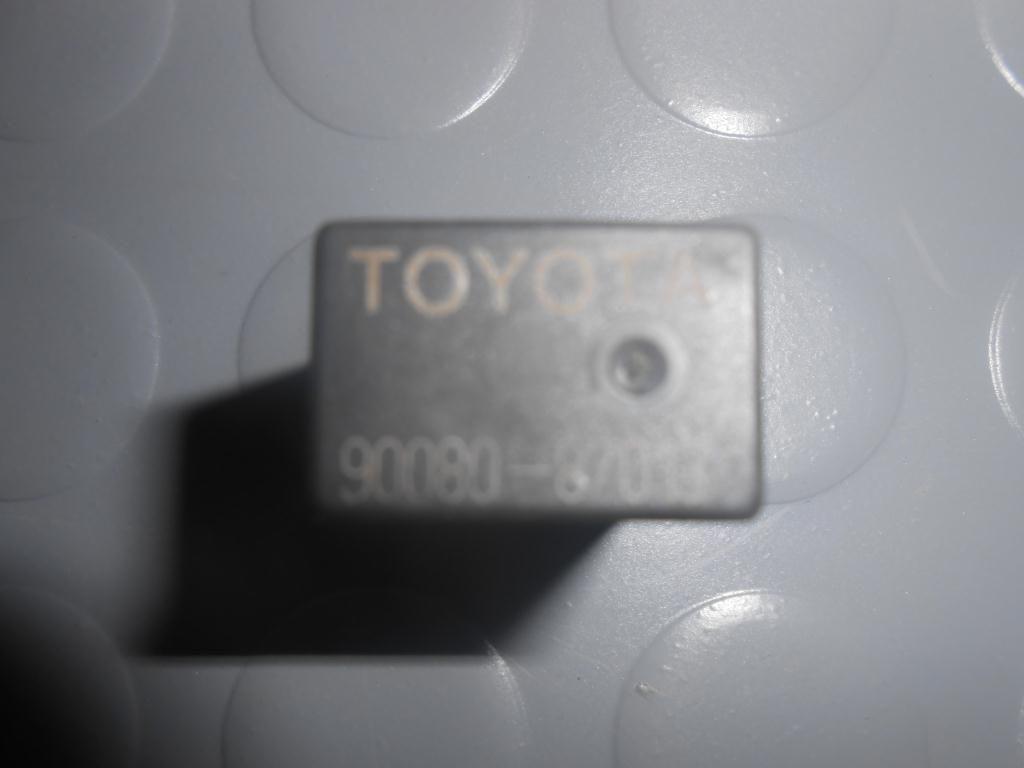 Фото 3 - Реле световых приборов (9008087013) TOYOTA Rav4 (A20) 00-05