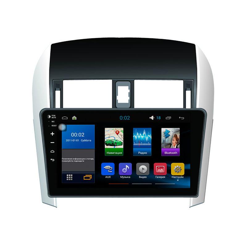 Фото - Штатная магнитола для Toyota Corolla 2007-2013 дисплей 10.2 (Android)