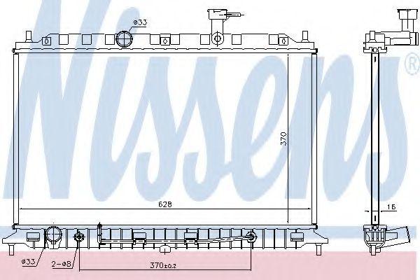 Фото - радиатор охлаждения и кондиционера KIA RIO  05-11