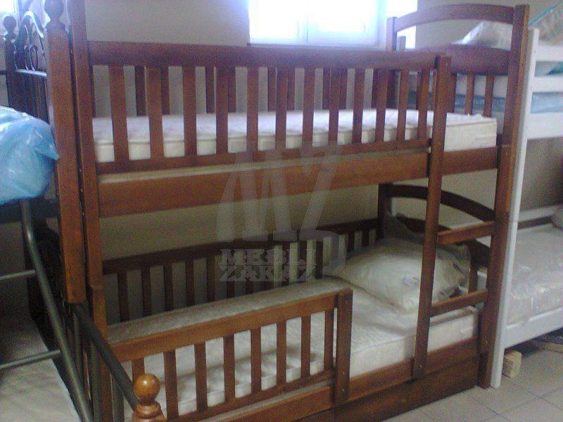 Фото 2 - 2 Яруса Двухъярусная кровать Карина Люкс усиленная
