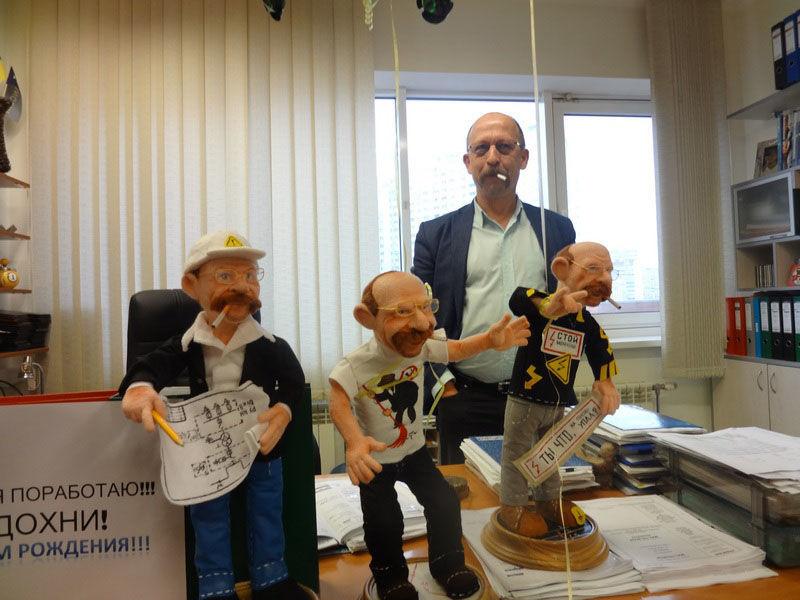 Портретные войлочные интерьерные куклы на заказ