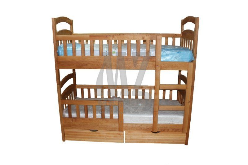Фото - Двухъярусная кровать Рута Люкс - Бук, Масло (Карина Люкс Бук)