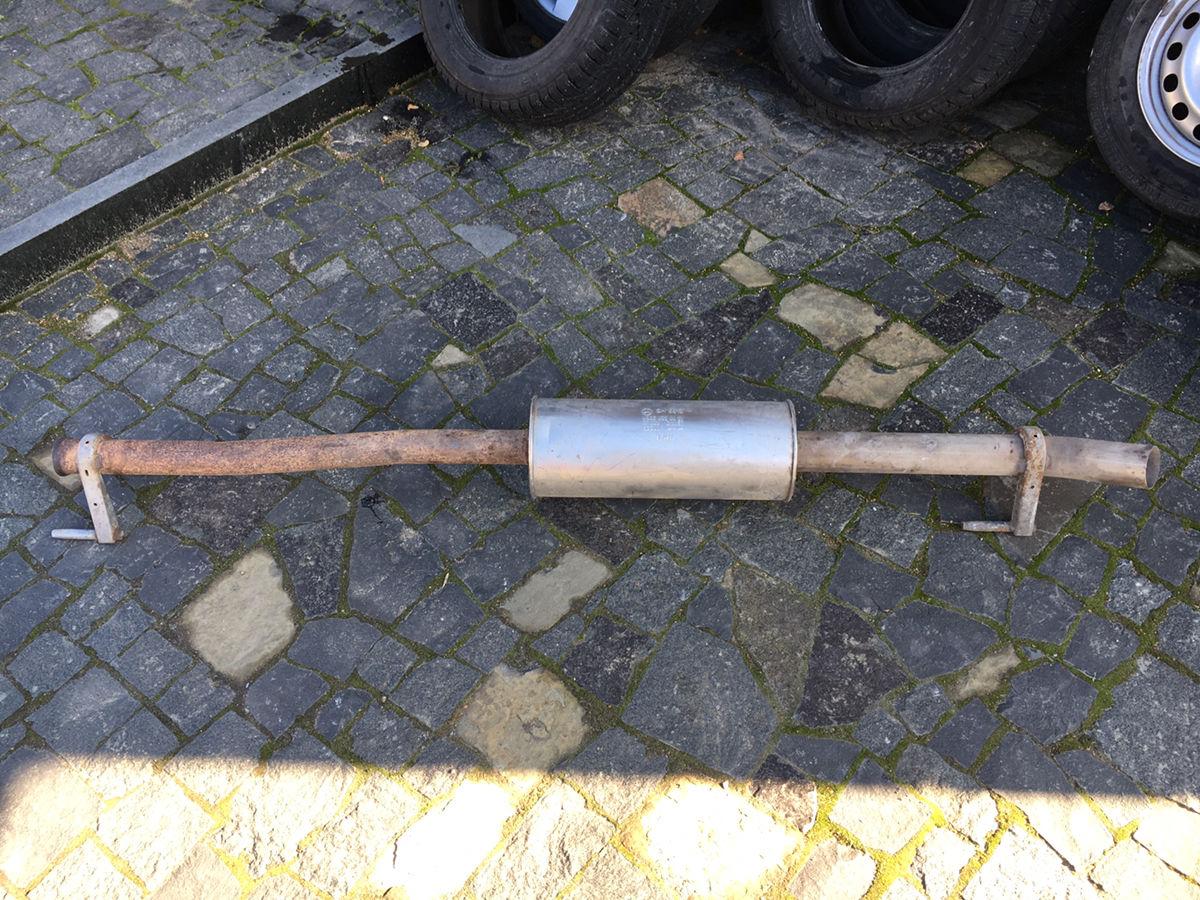 Фото 3 - Выхлопная труба (глушитель) Mercedes Sprinter W906 VW Crafter