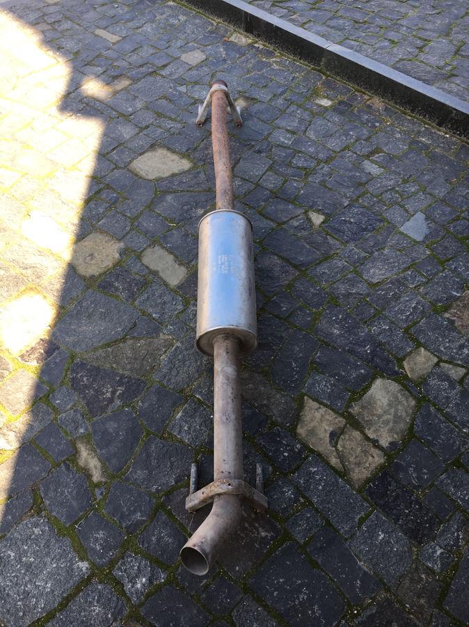 Фото - Выхлопная труба (глушитель) Mercedes Sprinter W906 VW Crafter