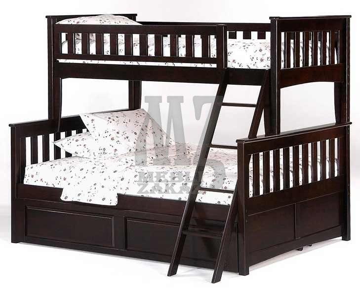 Фото 3 - Двухъярусная кровать Жасмин М + матрасы + 2 подушки в подарок