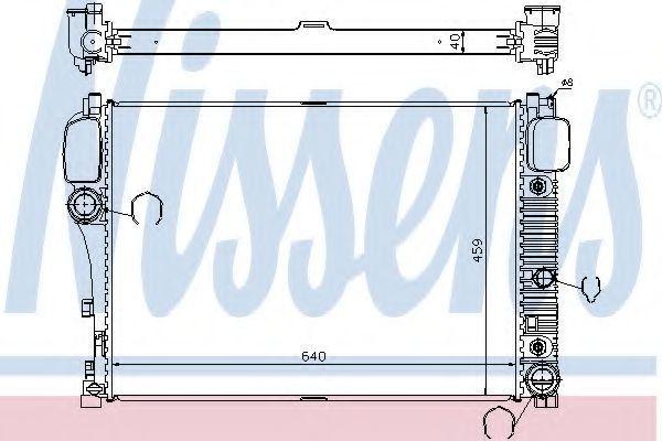 Фото - радиатор охлаждения и кондиционера  mercedes мерседес w221