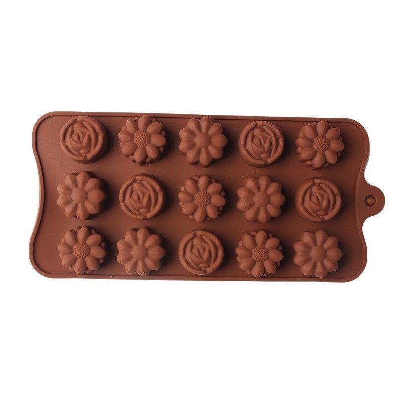 Фото 3 - Силиконовая форма для изготовления мыла, кексов, мусов,суфле, шоколада