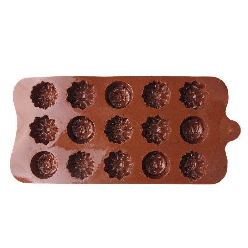 Фото 2 - Силиконовая форма для изготовления мыла, кексов, мусов,суфле, шоколада