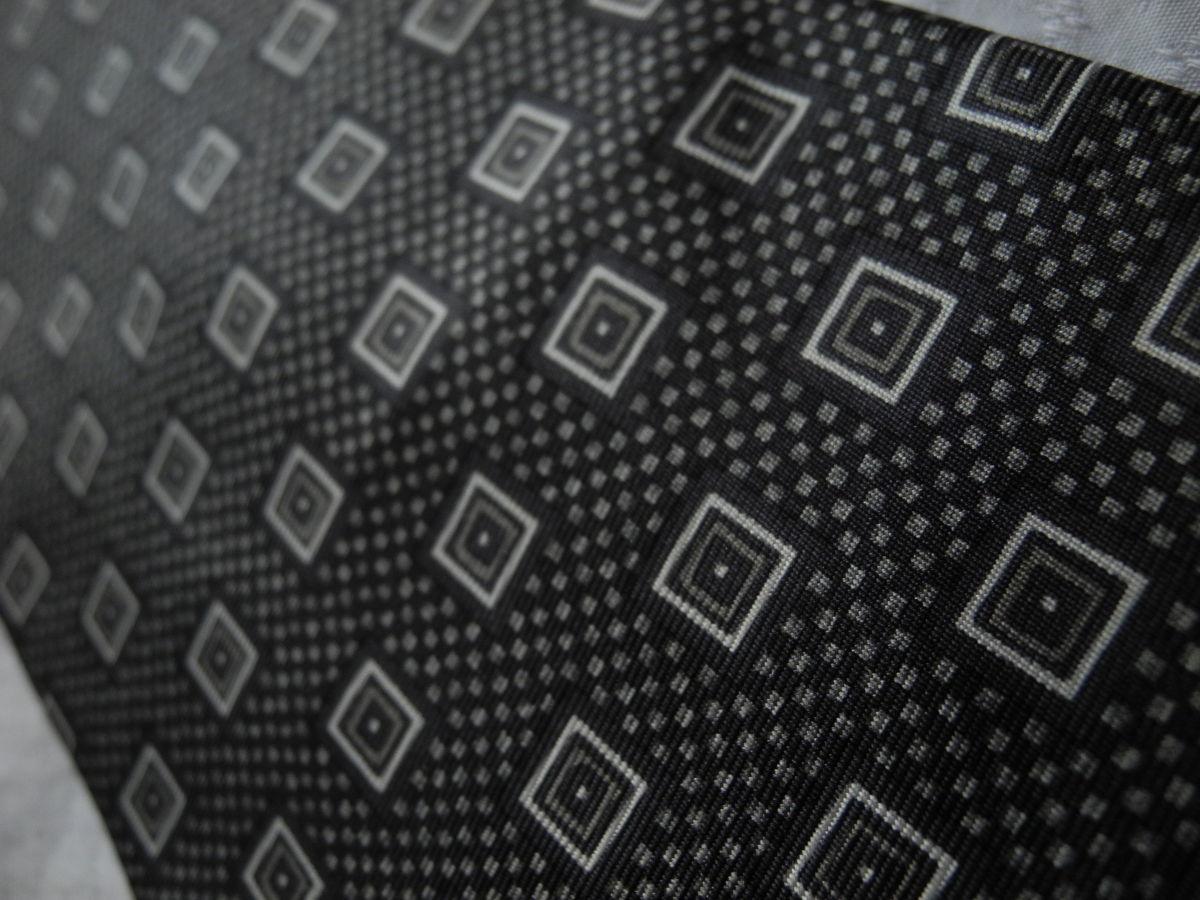 Фото 2 - Мужской галстук в узорчик 100% из шелка Pure silk Италия