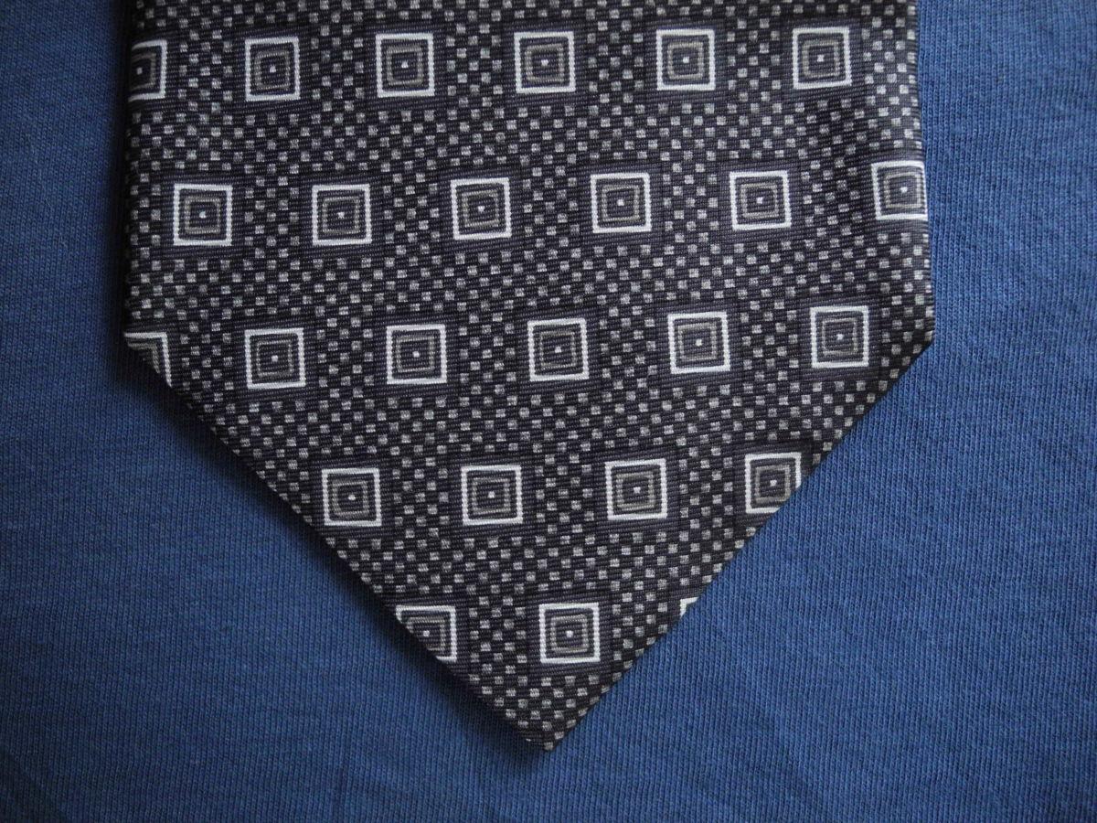 Фото - Мужской галстук в узорчик 100% из шелка Pure silk Италия