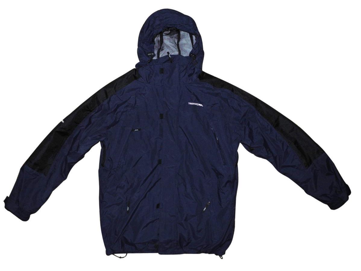 Фото - Мужская куртка 2in1 синяя черная с капюшоном Trespass TP75 tres-tex XL