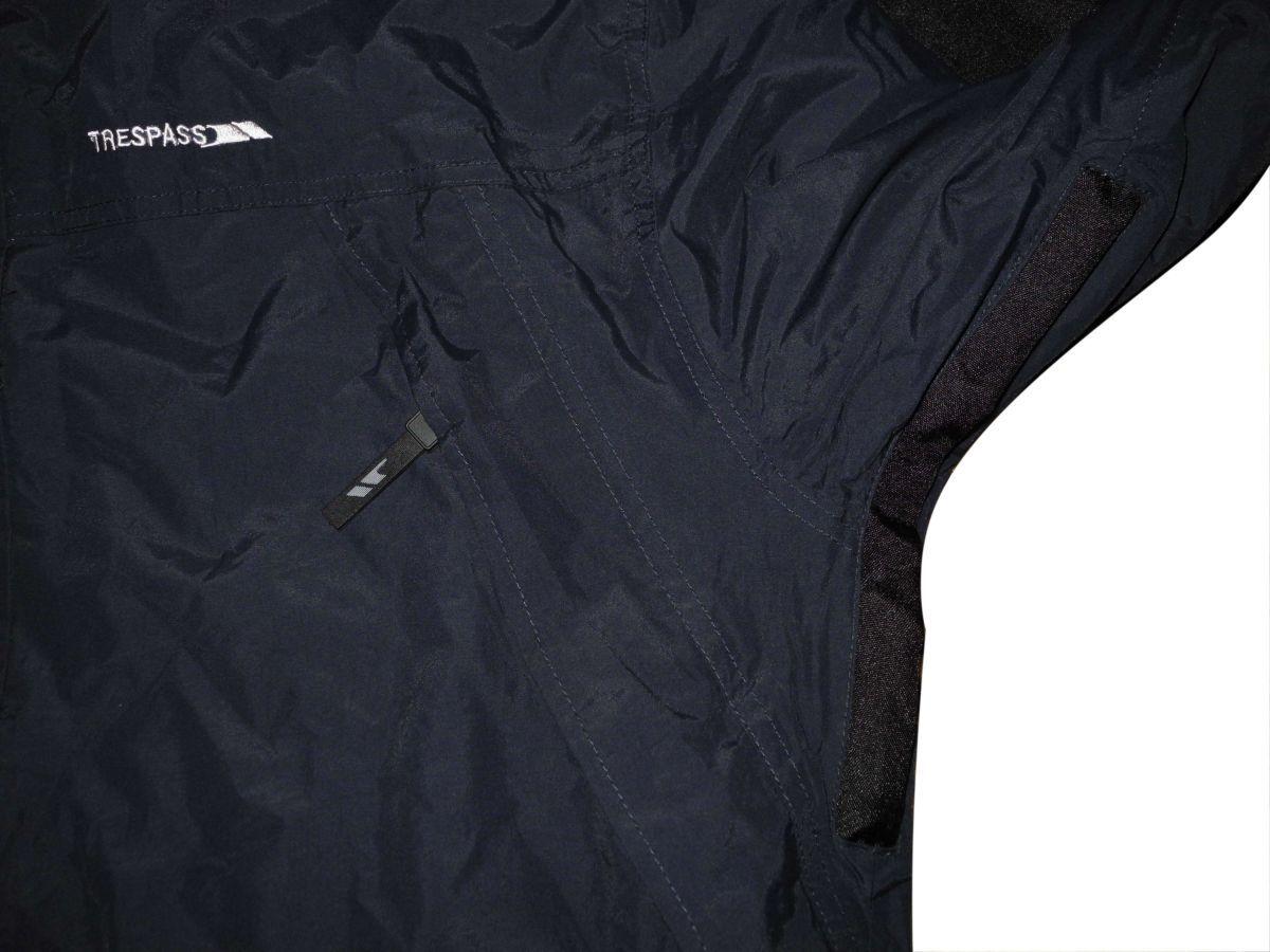 Фото 6 - Мужская куртка 2in1 синяя черная с капюшоном Trespass TP75 tres-tex XL