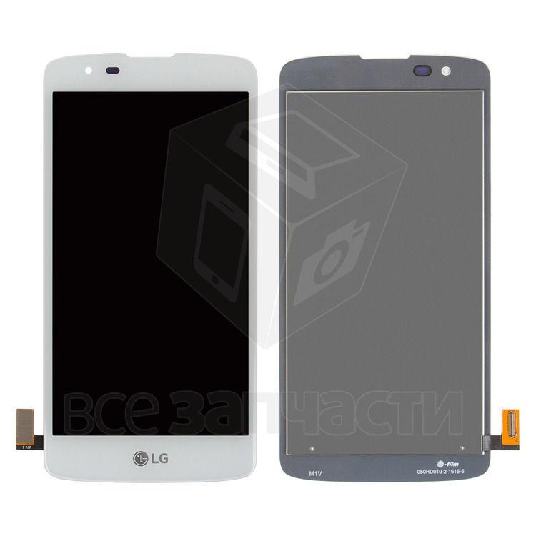 Фото - Дисплейный модуль LG K8 K350E, K8 K350N, Phoenix 2, белый,