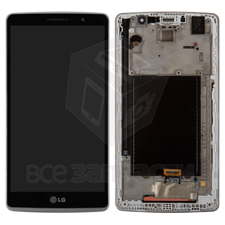 Фото - Дисплейный модуль LG H540F G4 Stylus Dual, ,черный,с передней панелью