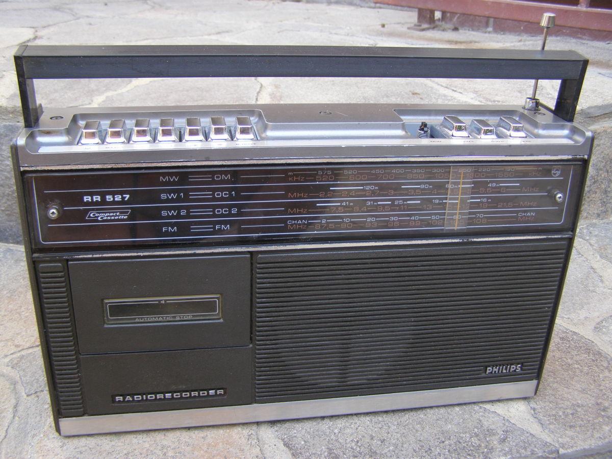 Фото - VINTAGE Магнитола Philips RR-527 1974 г.