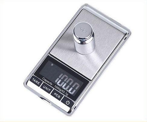 Фото 3 - Мини электронные весы / Ювелирные весы от 0,01гр. до 1000гр.