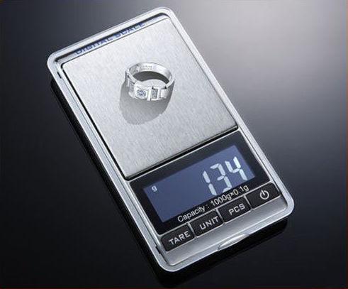 Фото - Мини электронные весы / Ювелирные весы от 0,01гр. до 1000гр.