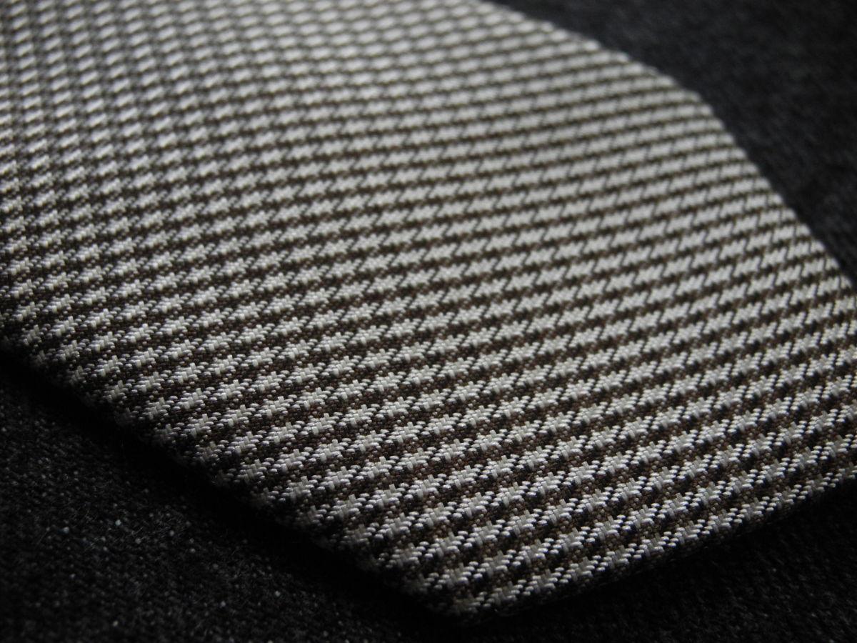 Фото 3 - Мужской галстук необычный интересный узкий с узором Nigel HALL