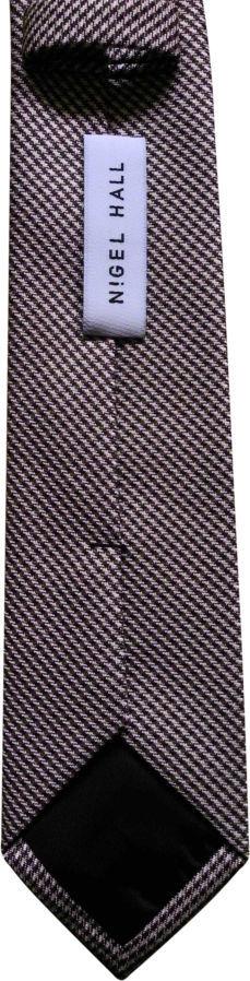 Фото 4 - Мужской галстук необычный интересный узкий с узором Nigel HALL